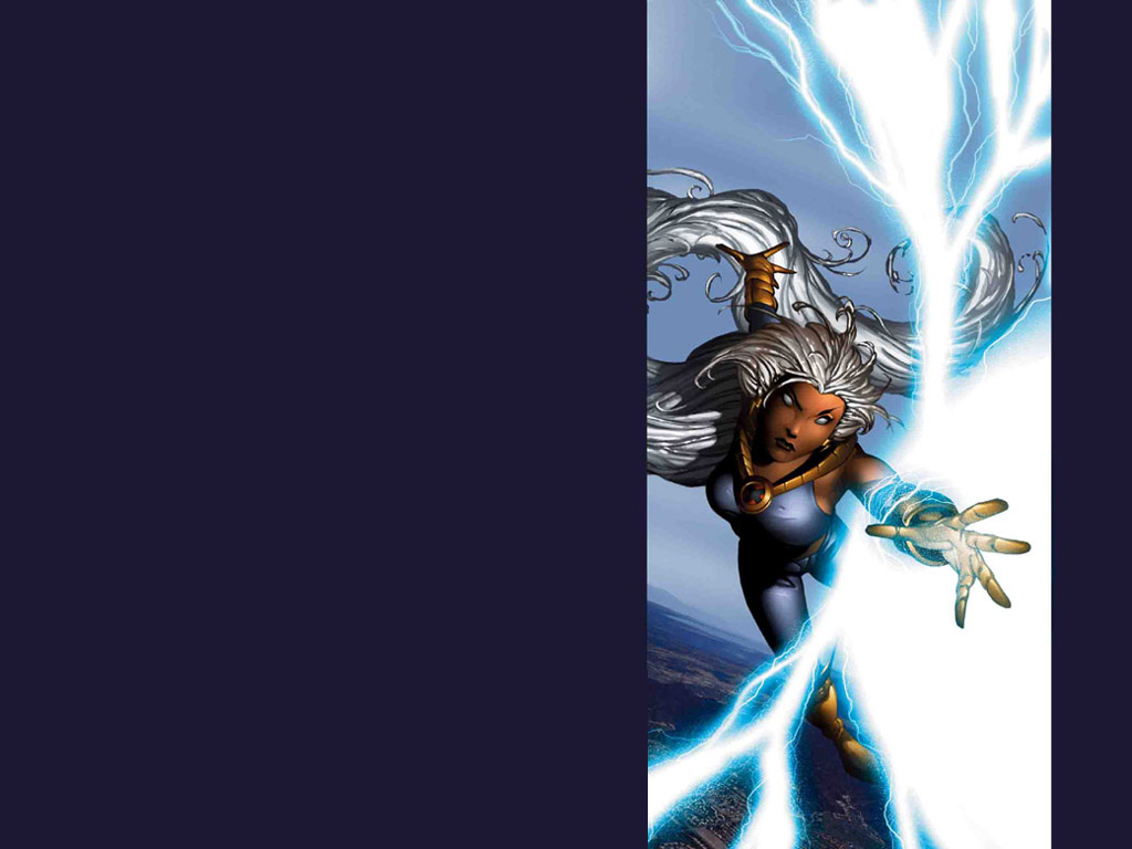 Storm, from the cover to Ultimate X-Men #26